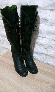 SNIPE Stiefel Boots Lederstiefel Öko-Leder