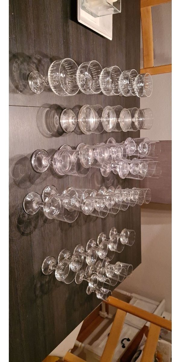 V&B Villeroy&Boch 32 Bergamo Gläser + 5 weitere Sekt/Wein/Schnaps