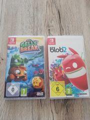 2 x Nintendo Switch Spiele