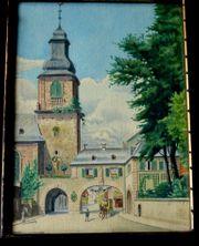 2 Top Gemälde 1919 Butzbach