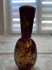 Indische Vase handgemacht - Höhe 21cm