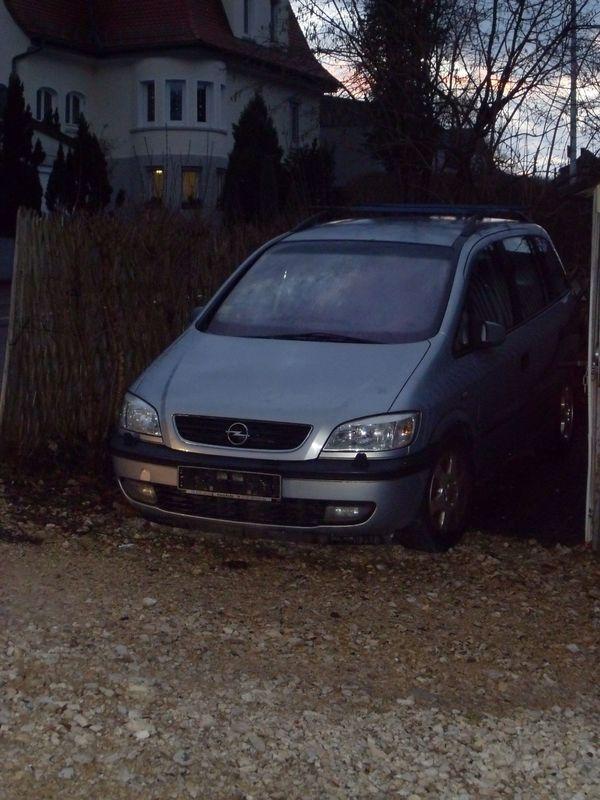 Pkw Opel Zafira A Executive