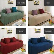 Beiger Universeller elastischer Sofabezug für
