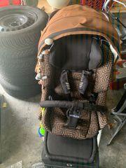 Gesslein F4 Kinderwagen mit Zubehör