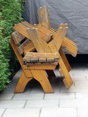 Gartenmöbel massiv Holz