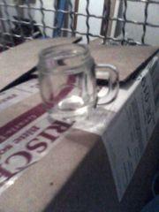 Minikrug - Größe Stamperlglas - Krügerl - Glas -