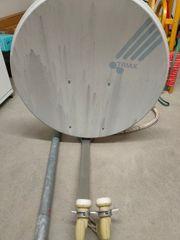 80cm Satellitenschüssel inklusive Halterung