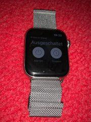 Watch 44mm Uhren Armband Stahl