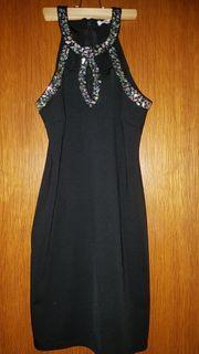 schwarzes Cocktailkleid Gr L 36