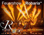 Feuershow direkt in Thüringen und