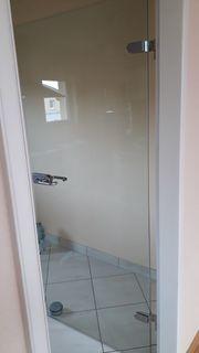 2 stabile Glastüren für Innenräume