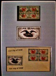 USA Briefmarken Eagle Air Mail