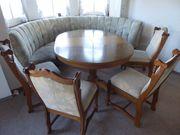 Rundbank Eckbank Tisch und 5