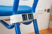 Kinder-Schreibtischstuhl mitwachsend blau - Firma Moll
