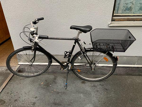 Herrenrad Steinweg - schwarz mit Dynamo
