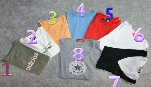 8x Adidas Venice Converse Erima Damen Sport Fitness Marken Shirt 36 S 38 M Maße