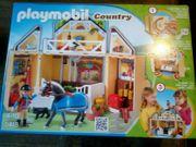 Playmobil Country 5418 Reitstall Aufklapp-Spielbox