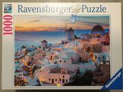Puzzle Ravensburger 1000 Teile Santorini