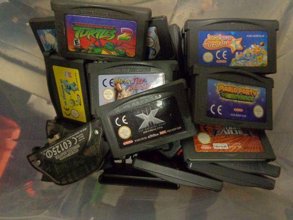 Nintendo Gameboy Gameboy Advance Spiele