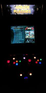 Videospielautomat mit 23 PC-Monitor Pandora