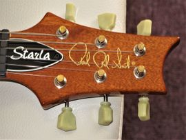 Gitarren/-zubehör - PRS Starla Birds Bigsby-B5 Natural