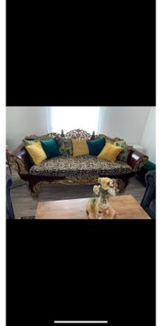 barrock Holz couch