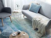 Teppich blau-grün 140 x 200