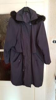 Damen-Mantel dunkelblau