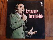 Vinyl LP Charles Aznavour - Formidable