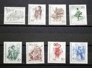 Briefmarken Berlin 1969 Berliner des
