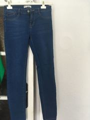 blaue Jeans Gr 36 Stretch