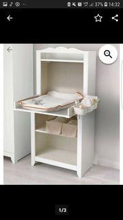 Wickelkommode Wickeltisch Kommode Hensvik Ikea