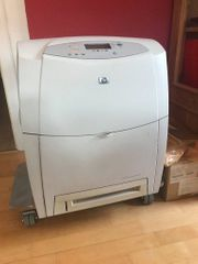 Laserdrucker HP 4600dn Duplex viel