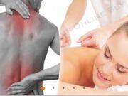medizinische und entspannende Massage