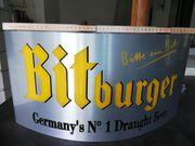 Leuchtreklame Schild Bitburger
