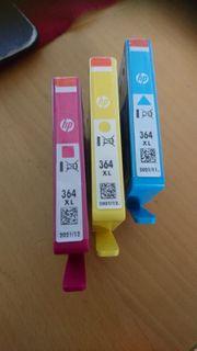 HP 364 XL Druckerpatronen cyan