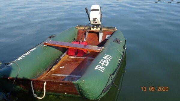 Schlauchboot Plastimo mit Tomos t4