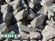Gabionensteine Steinkorbfüllung Basalt 60-120