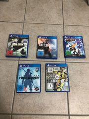 PS4 Spiele-Set