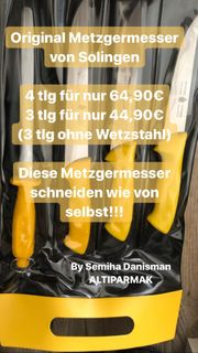 Metzgermesser Solingen von Herder Sohn