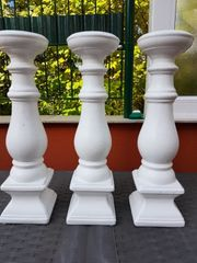 3 x Kerzenständer 40 cm