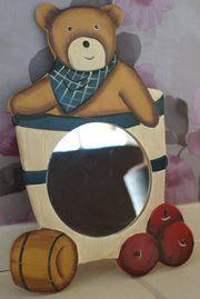 Kinderzimmerspiegel Bär