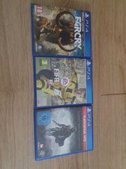 Verkaufe 3 Ps4 Spiele