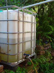 Wassertank für Außenbereich