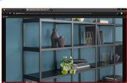 Balkonschrank Regale aus Aluminium Stoff