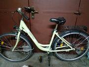 Damenfahrrad Citybike grün 28 Zoll