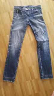 Coole Mustang Jeans Used Look