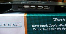 Notebook Cooler pad Xystec Black: Kleinanzeigen aus Niederfischbach - Rubrik Notebooks, Laptops