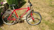 Fahrrad Mountainbike Marin rot mit