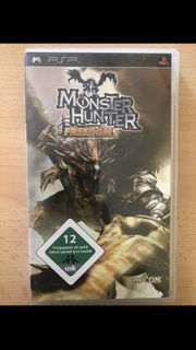 PSP Spiel - Monster Hunter Freedom